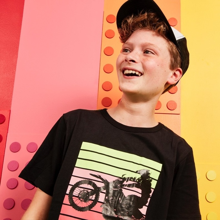 boy in kids shirt