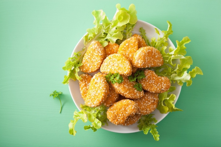 veggie chicken nuggets