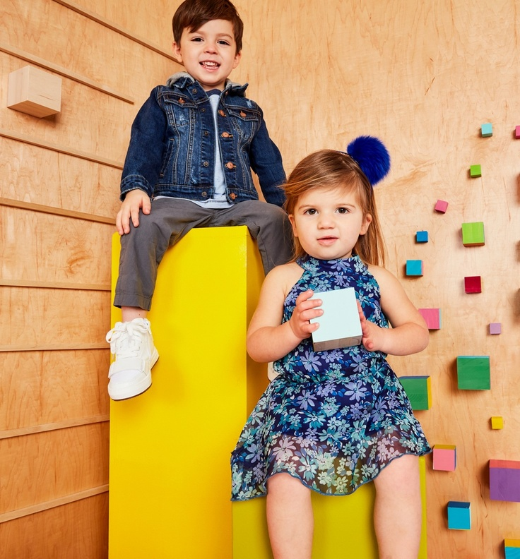 kids in kidpik subscription clothes