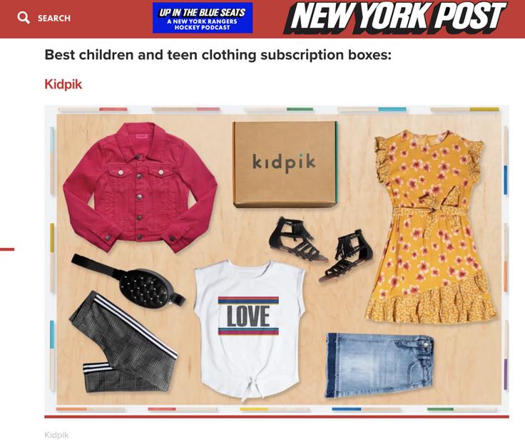 kidpik in the News: New York Post