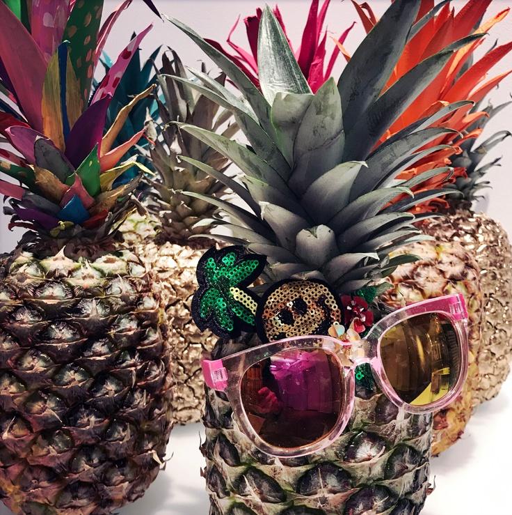 Pineapple and kidpik glasses