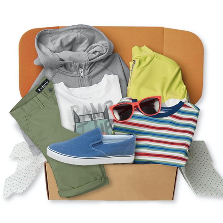 Boy's clothing box
