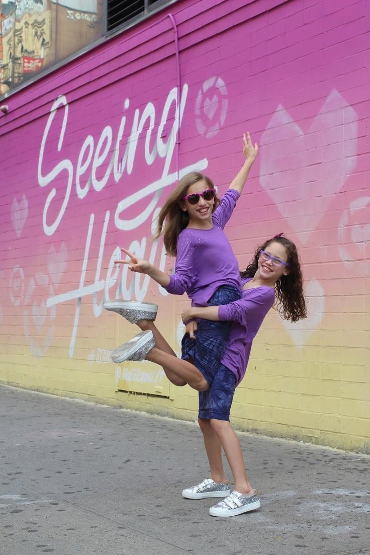 2 girls in purple kidpik outfits