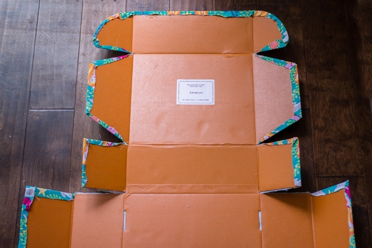 DIY kidpik box