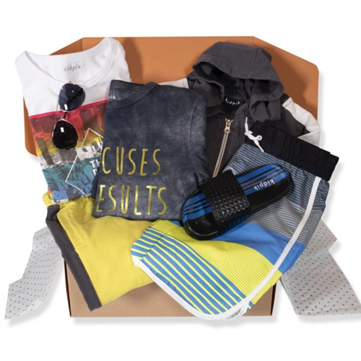Subscription clothes box