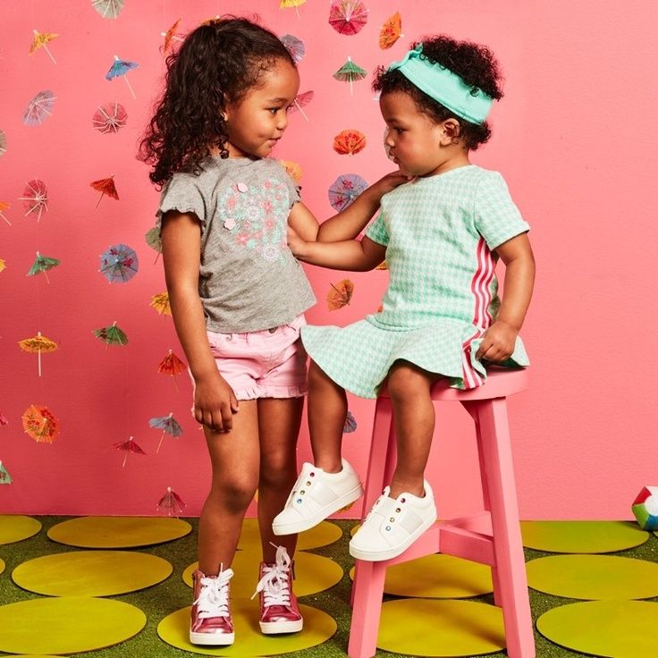 two little girls in kidpik clothes