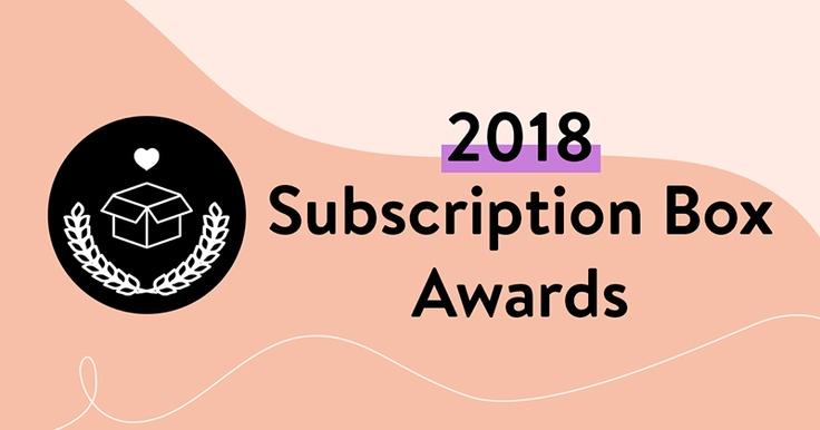 2018 Subscription Box Awards