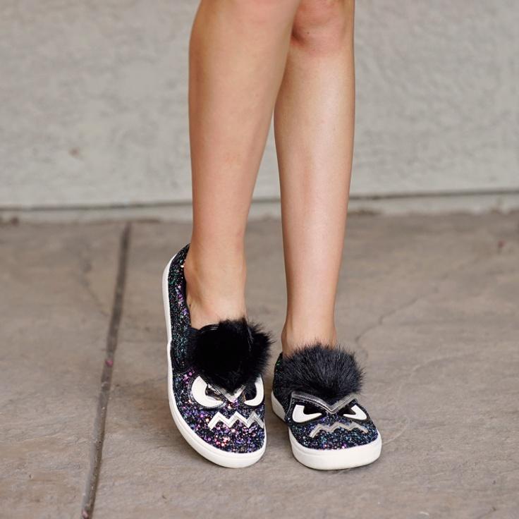 kidpik shoes on a girl