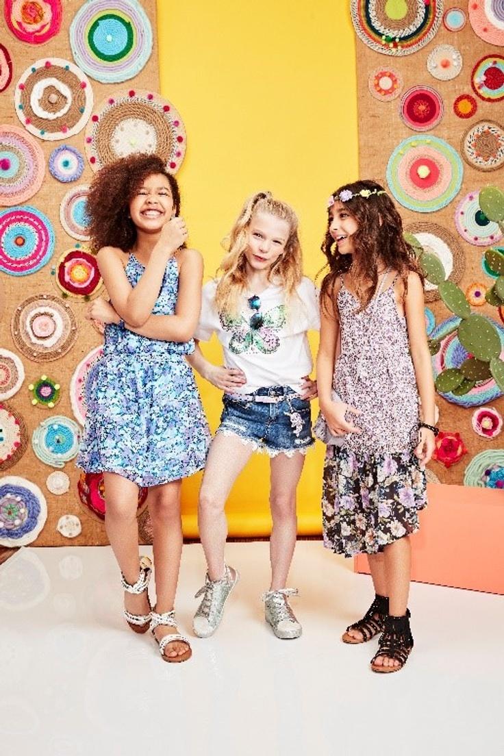 Tweens in kidpik summer outfits