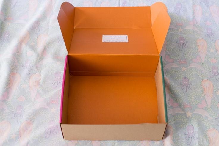 Empty kidpik box