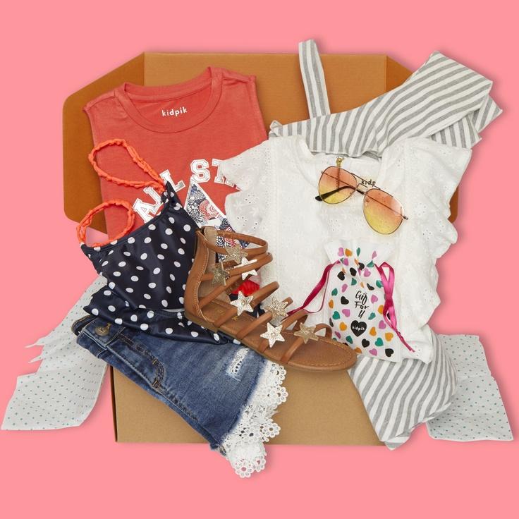 kidpik summer clothes box