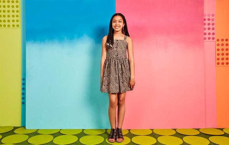 girl in kids subscription dress
