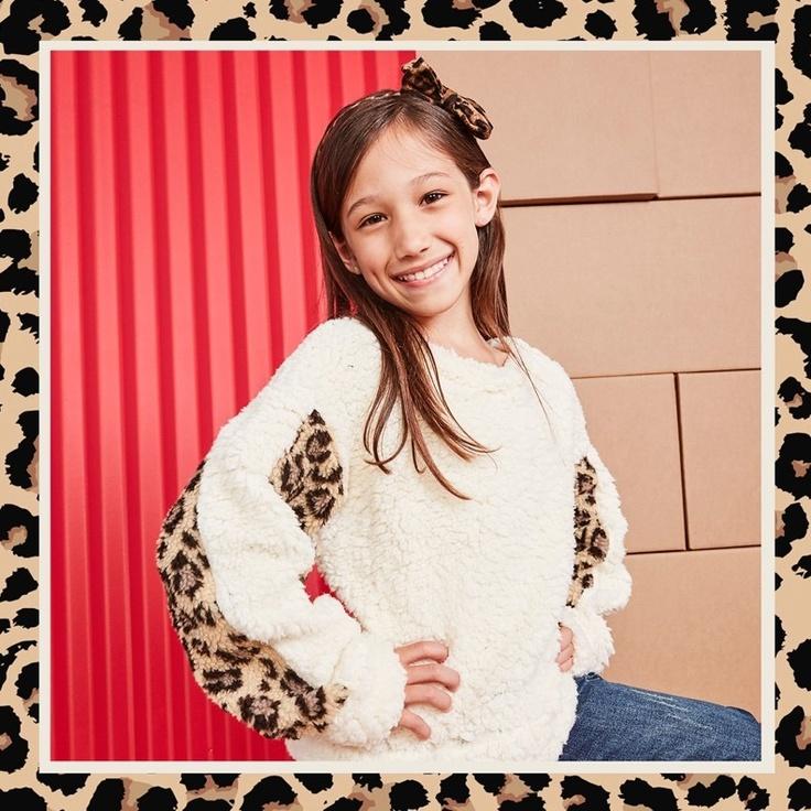 Girl wearing kidpik clothes