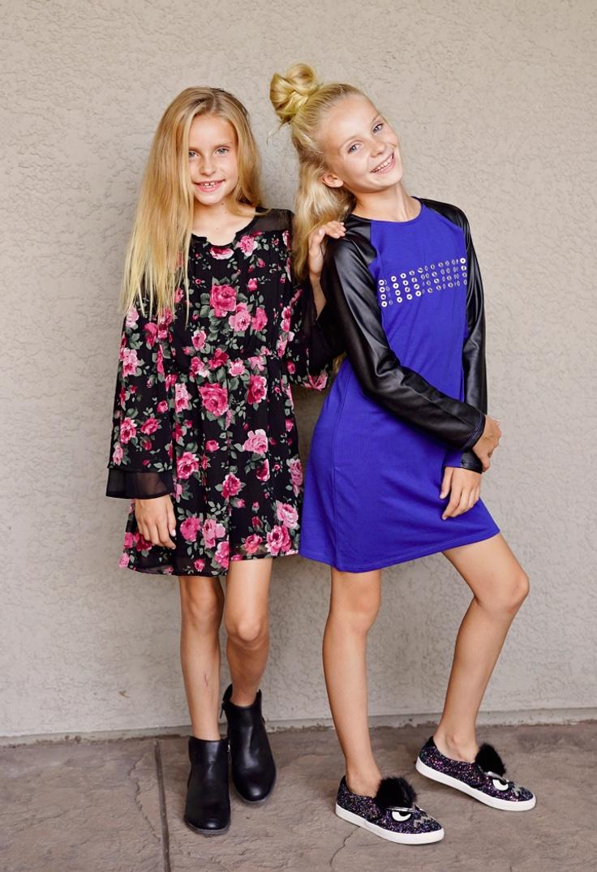 2 girls in kidpik clothes
