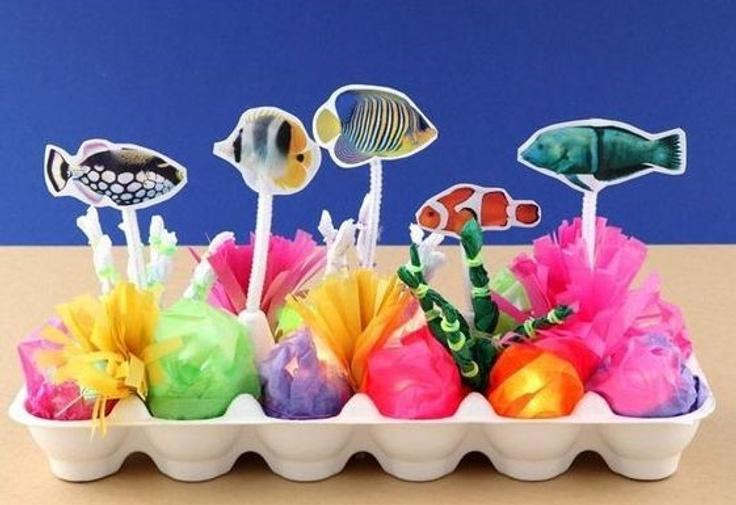 kids coral reef craft