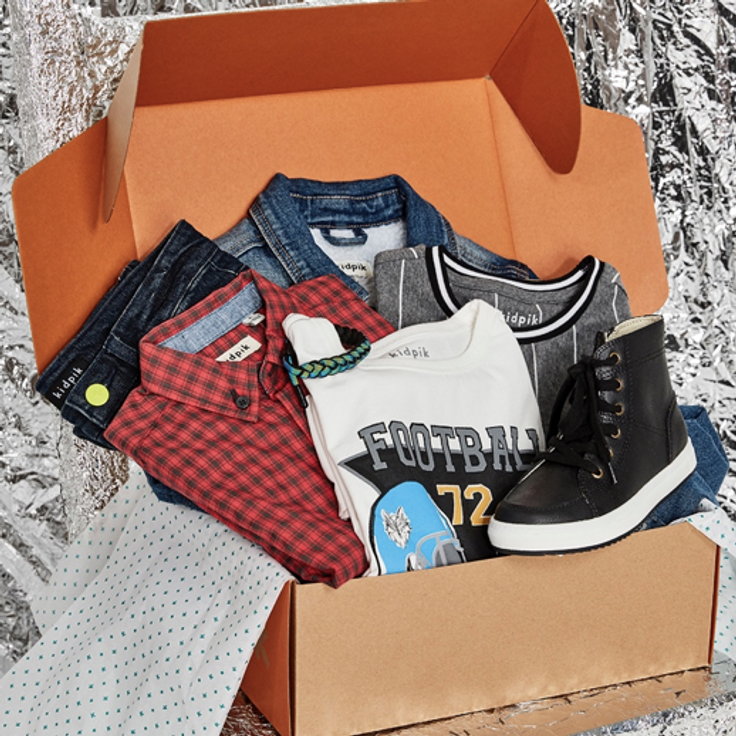 Girls Holiday Subscription Clothes Box