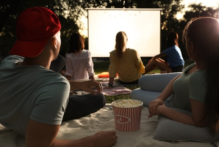 Plan Your Own Outdoor Movie Night