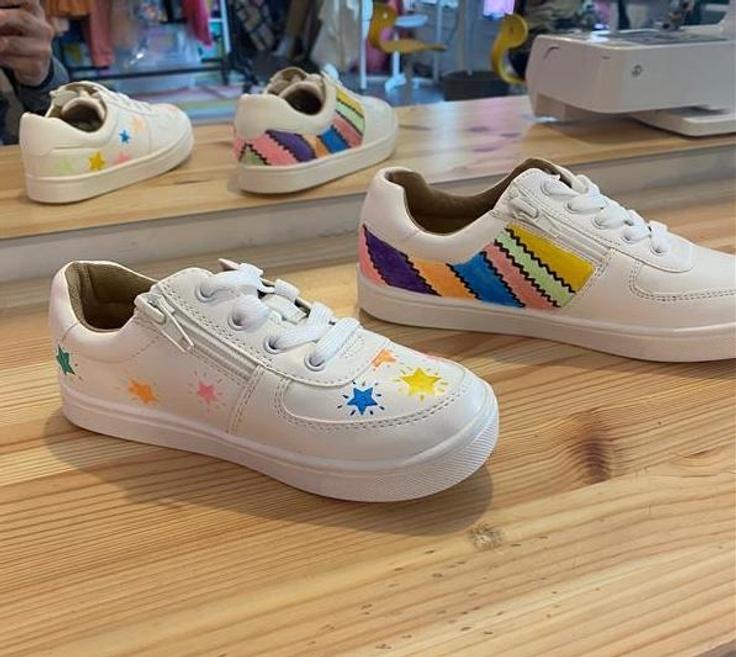 DIY shoes done at kidpik
