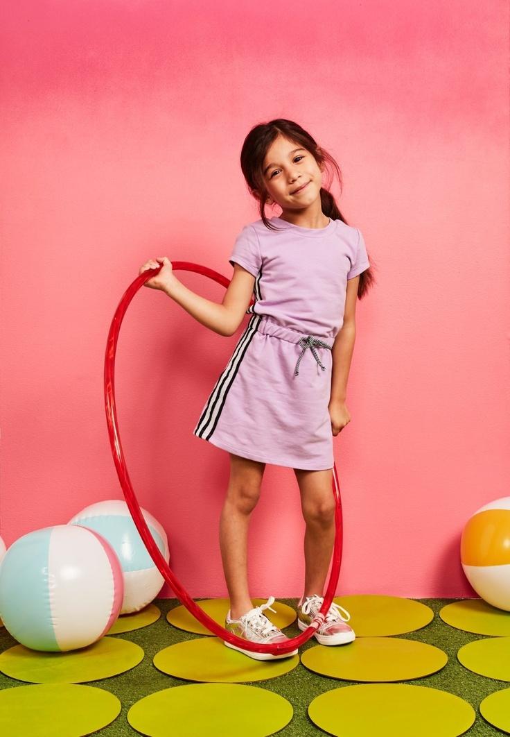 kid in girls dress