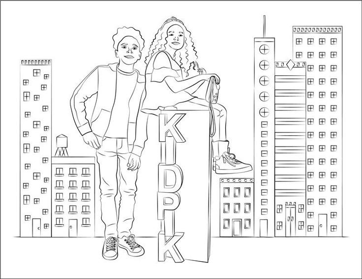 Kidpik Coloring Page