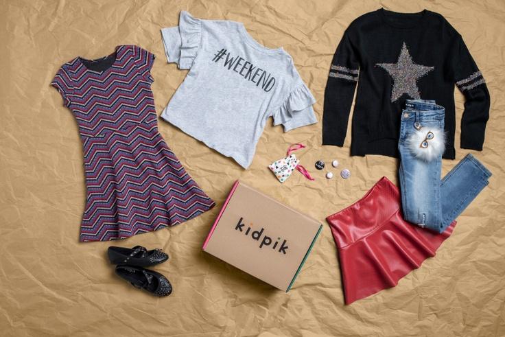 kidpik clothing laydown