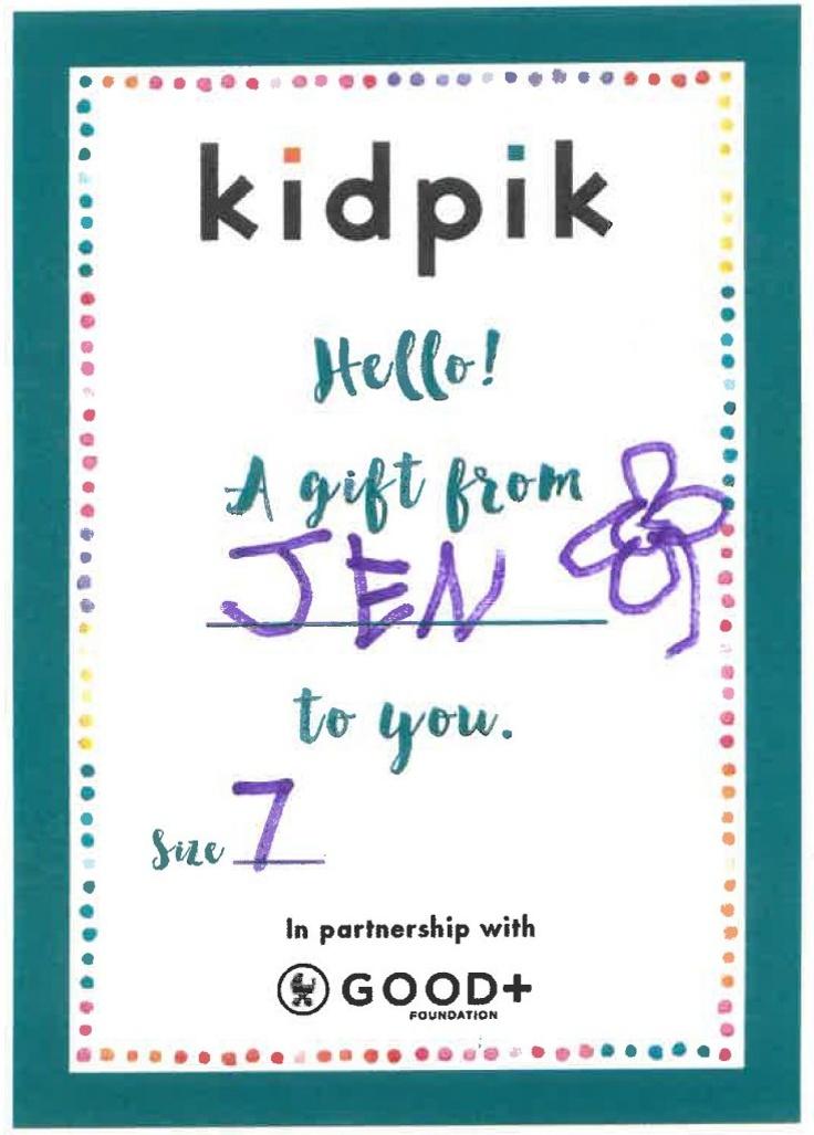 kidpik birthday card
