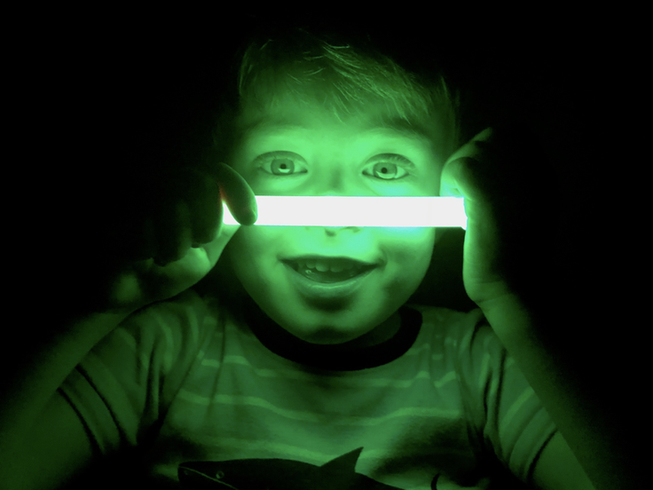 Glow in the Dark Experiments