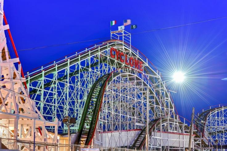 rollercoaster in coney island