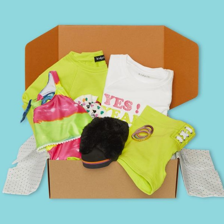 kidpik summer clothing box