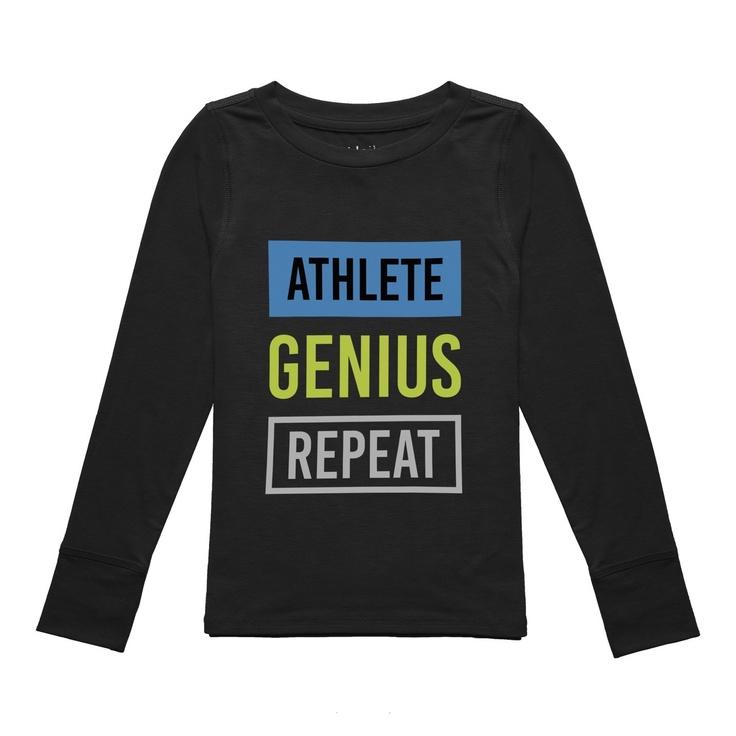 Athletic Genius Repeat Sweatshirt