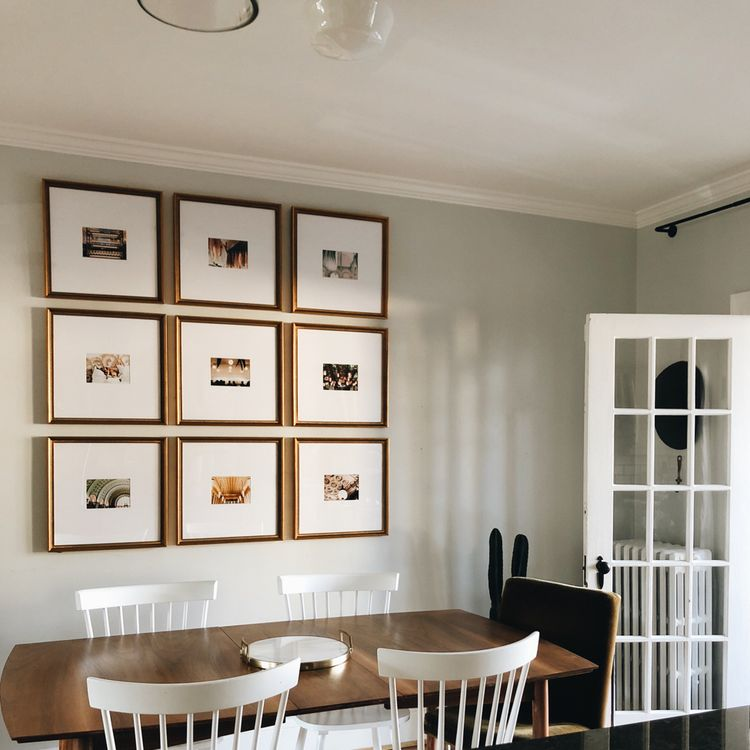 Design & Hang a Grid Gallery Wall