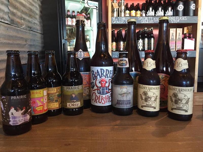 Lakewood Growler beer bottles