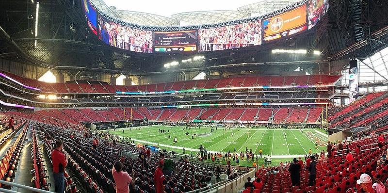 Mercedes-Benz Stadium in Atlanta