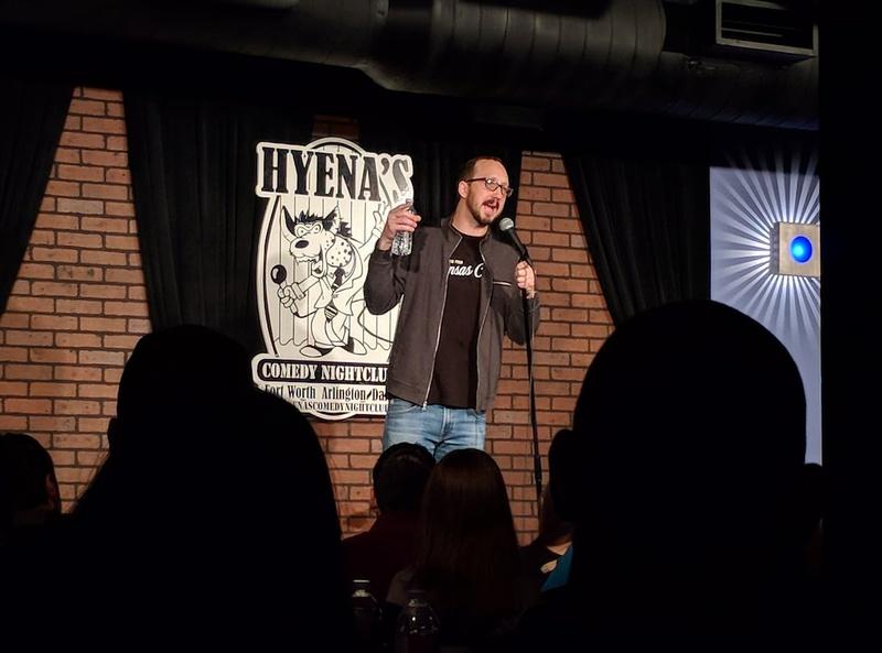 Hyena Comedy Nightclub Dallas