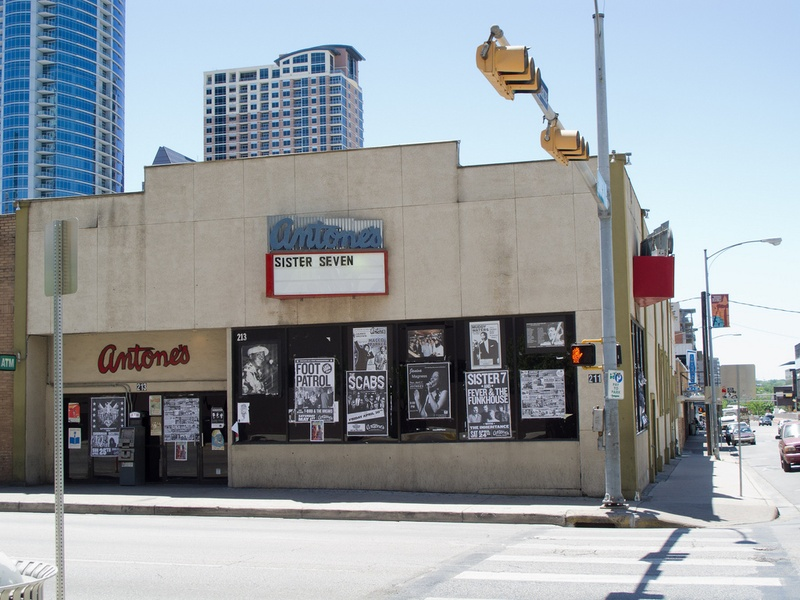 Antone's club in Austin