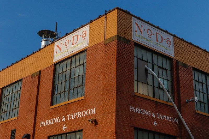 A prominent brewery in the NoDa neighborhood of Charlotte