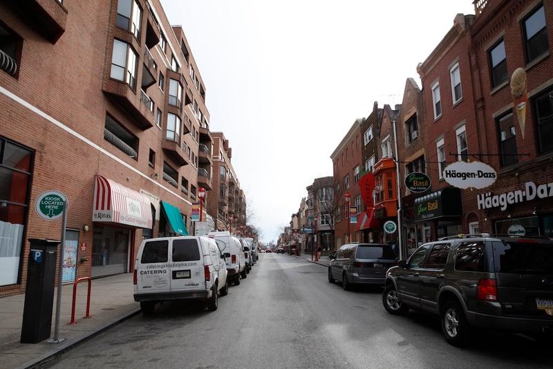 A street in Philadelphia, PA