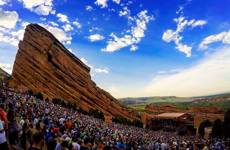 A beautiful performance at Red Rocks Amphitheatre