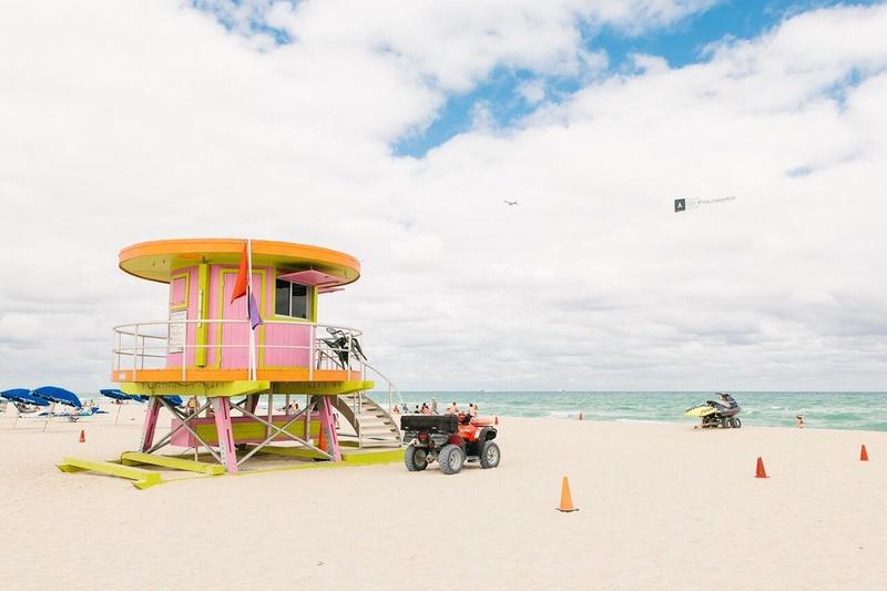 South Beach in Miami.
