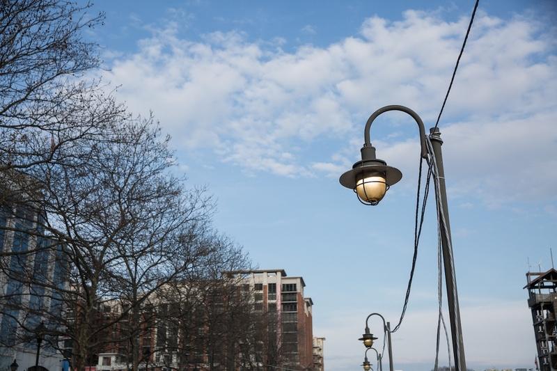 lampost on Baltimore street
