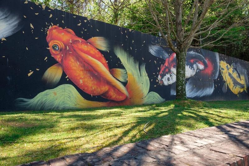 A mural in Atlanta, GA.