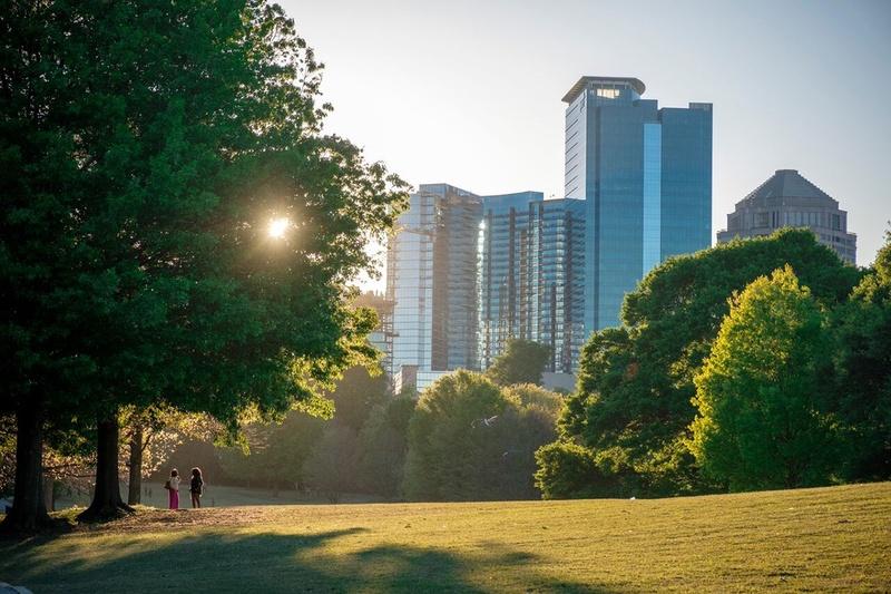 A park in Atlanta, GA.