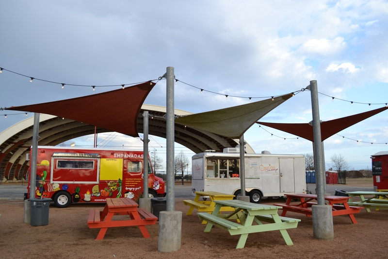 Austin's Mueller neighborhood food trucks