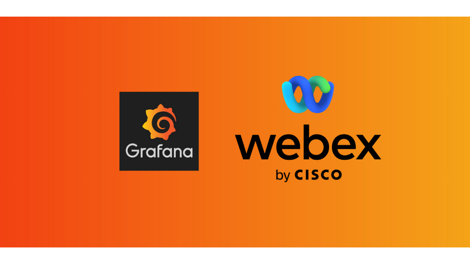 Monitoring Cisco webex with Grafana.